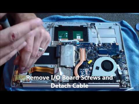 Asus UX303U AC DC Jack Repair