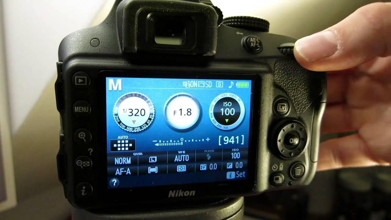 how to change exposure or shutter speed on your nikon d3300 youtube rh youtube com Nikon D3000 Digital Camera Manual Nikon D3000 Tips