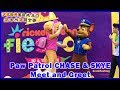 Paw Patrol Chase and Skye at Nickelodeon Fiesta at Clarke Quay