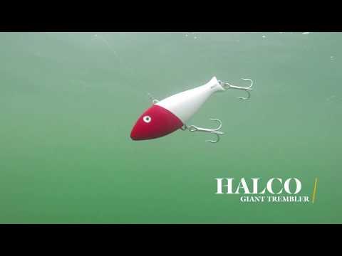 How Lures Swim: Halco Giant Trembler