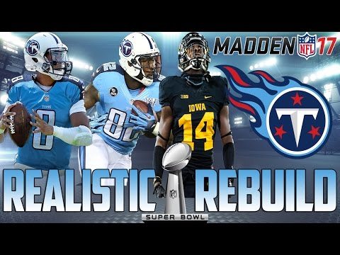 Madden 17 Connected Franchise | Realistic Rebuild: Tennessee Titans | How Good is Mariota?