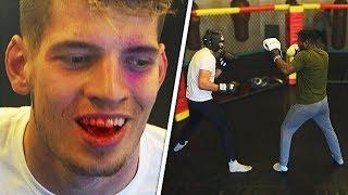 I Got Knocked Out By KSI's Trainer... - JMX vs Viddal Riley (Boxing Match)