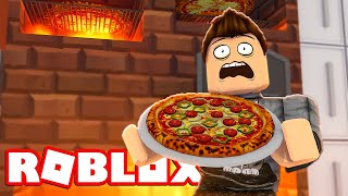 EVERYONE WILL HAVE MY PIZZAS! -Roblox Work At A Pizza Place English with ComKean