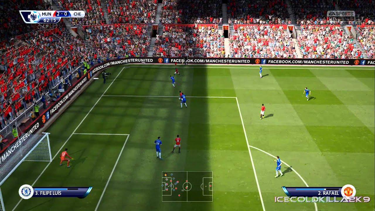 Man utd football club results. Fifa 15 match day live Man Utd vs Chelsea - YouTube