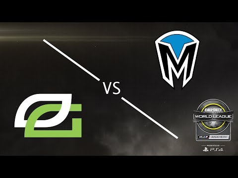 OpTic Gaming vs MindFreak - CWL Anaheim Open Presented by PlayStation 4 - Day 1