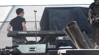 Coldplay Medley- The Wanted at Mix Tape Fest, Hershey, PA (8-18-2012)