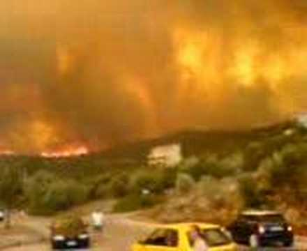 fire in evia greece,atiki nireas