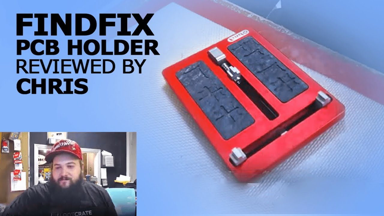 Findfix Upmarket Universal Pcb Holder Review Youtube New Circuit Board Fixtures Repair Tool For Mobile Union