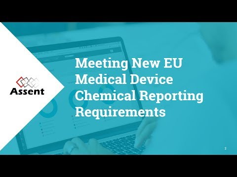 [Webinar] Meeting New EU Medical Device Chemical Reporting Requirements