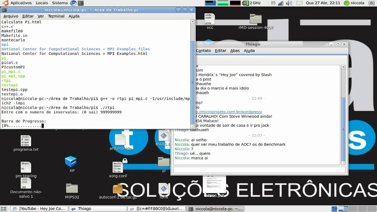 Pi Calculus Using MPI code and one process first run