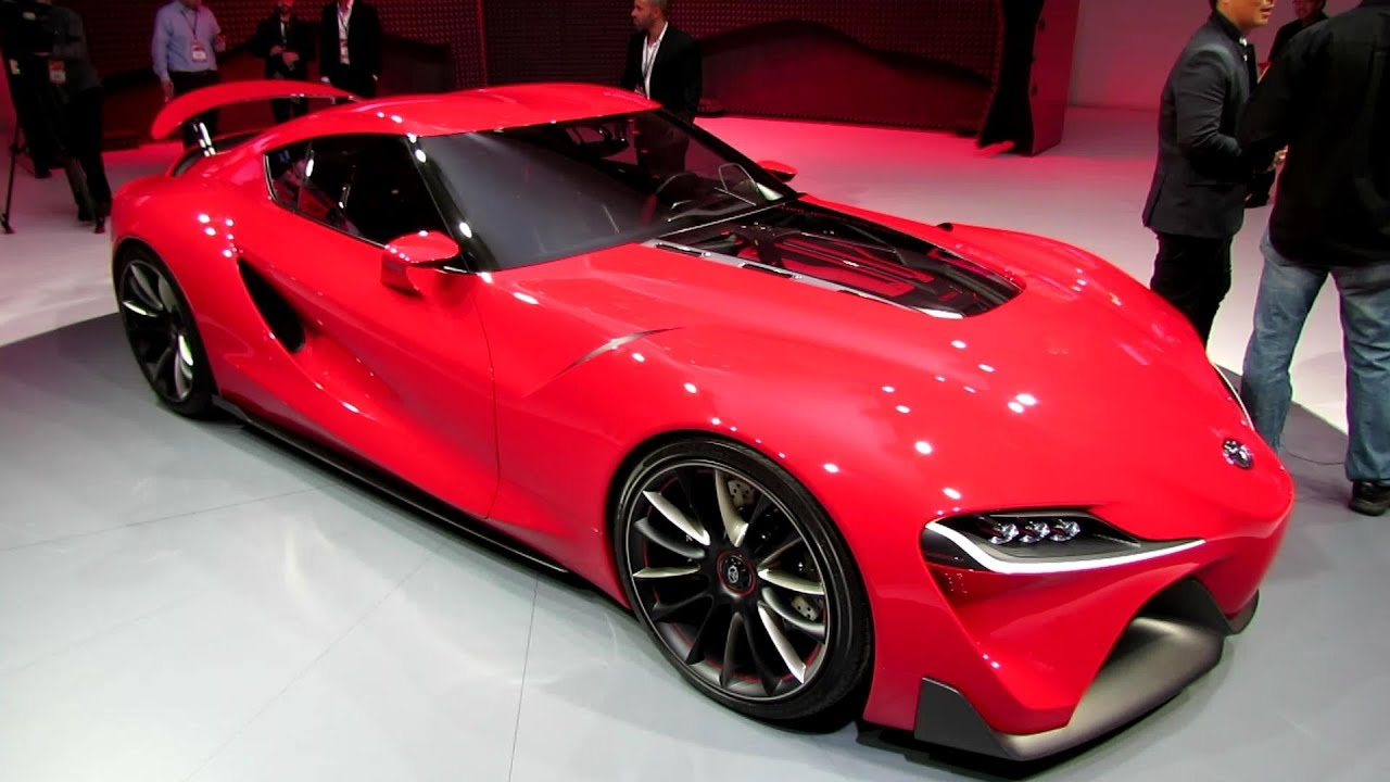 2015 Toyota FT1 Concept Exterior and Interior Walkaround Debut