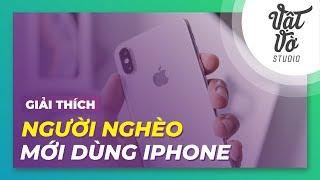 Nghèo mới mua iPhone?