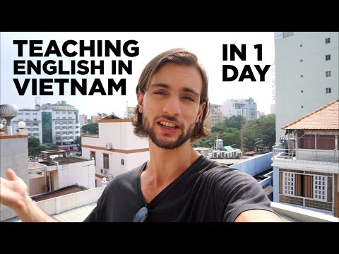 How To Get Set Up To Teach English in Vietnam in 1 day