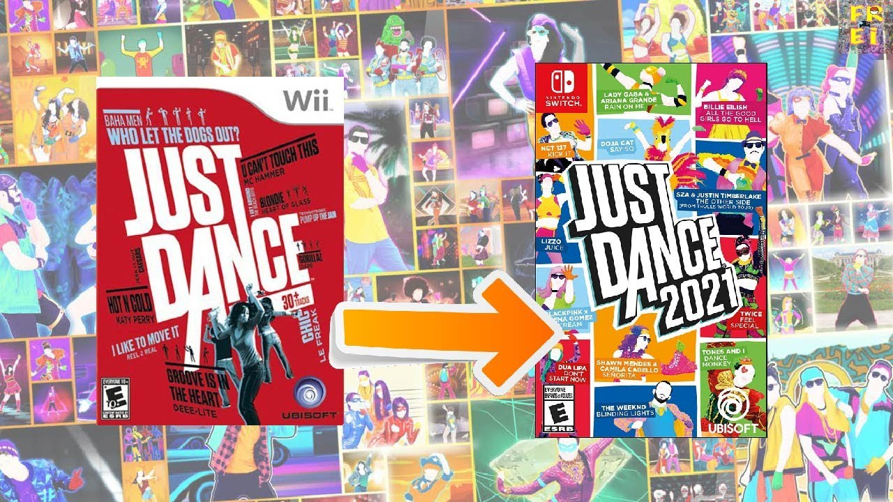 All JUST DANCE SONGS (Main Series) 1-2021