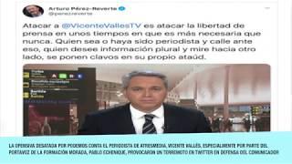 Arde Twitter en defensa de Vicente Vallés tras los ataques de Podemos y Echenique