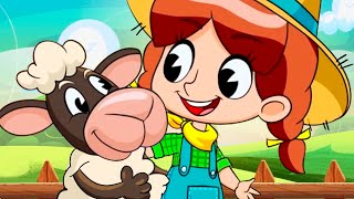 Mary Had A Little Lamb | Kids Song | Clap clap kids