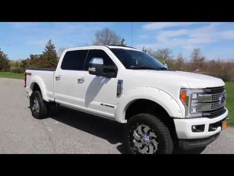 2017 Ford F 250 Platinum For Sale >> Loaded To The Balls 2017 Ford F250 Crew Platinum For Sale 6 7l Diesel Big In Extras