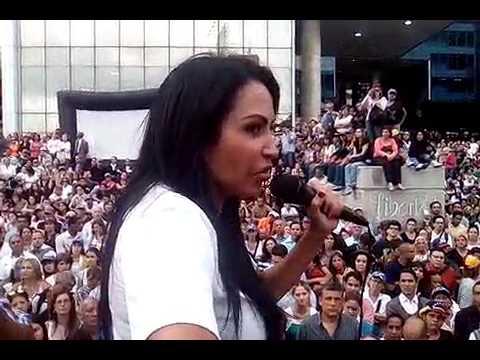 """Solórzano:""""No tenemos miedo a manifestar pero sí a los que se ponen un uniforme para matar"""""""