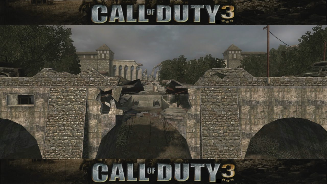 Call Of Duty 3 Maps lets Review Call of Duty 3 Multiplayer Maps Map 03   YouTube