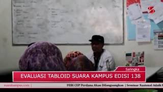 Berita Advetorial | Evaluasi Tabloid Mahasiswa Suara Kampus Edisi 138