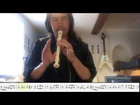 Greensleeves : Arrangement 2 flûtes & 2 Guitares (+ TAB et Partition)