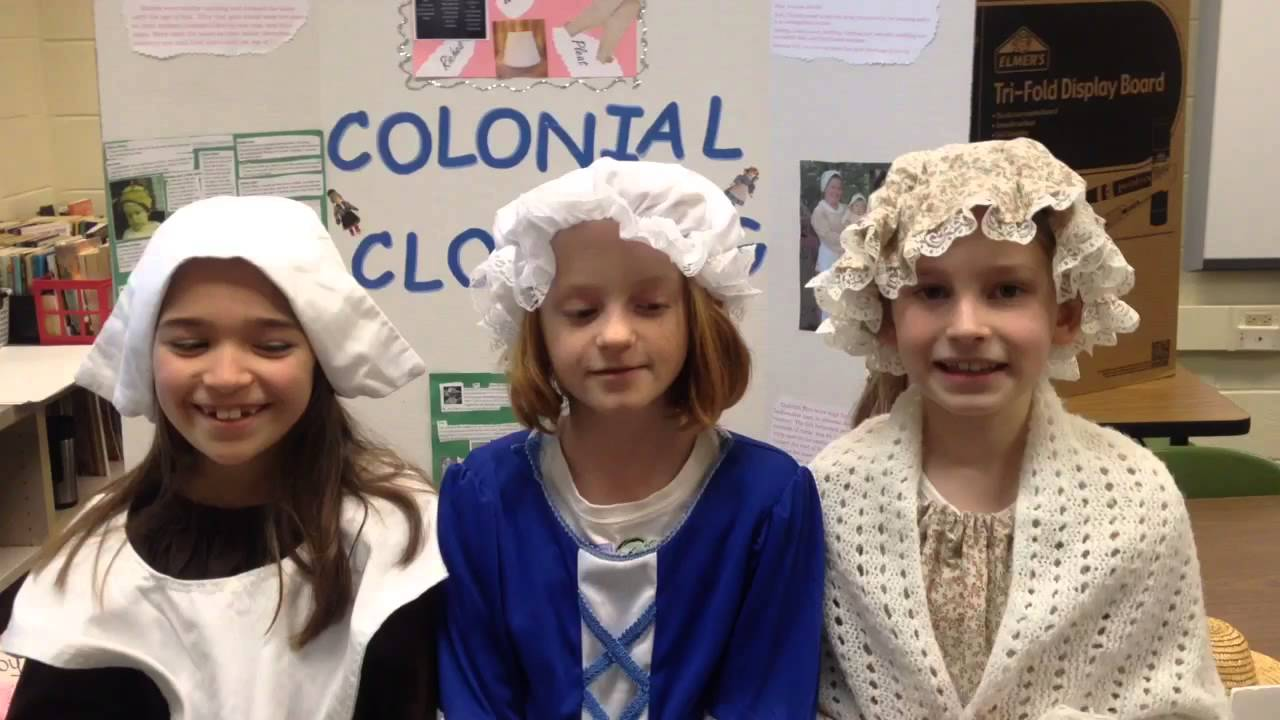 Colonial Day Clothing Youtube