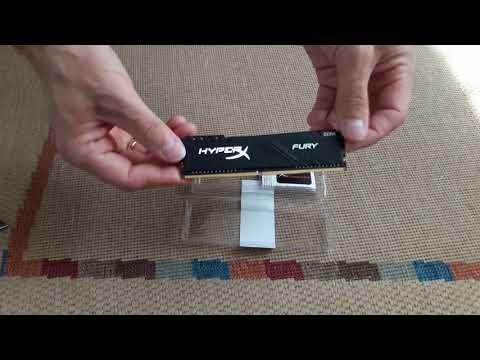 Оперативная память HyperX DDR4-2400 8192MB PC4-19200 Fury Black (HX424C15FB3/8)