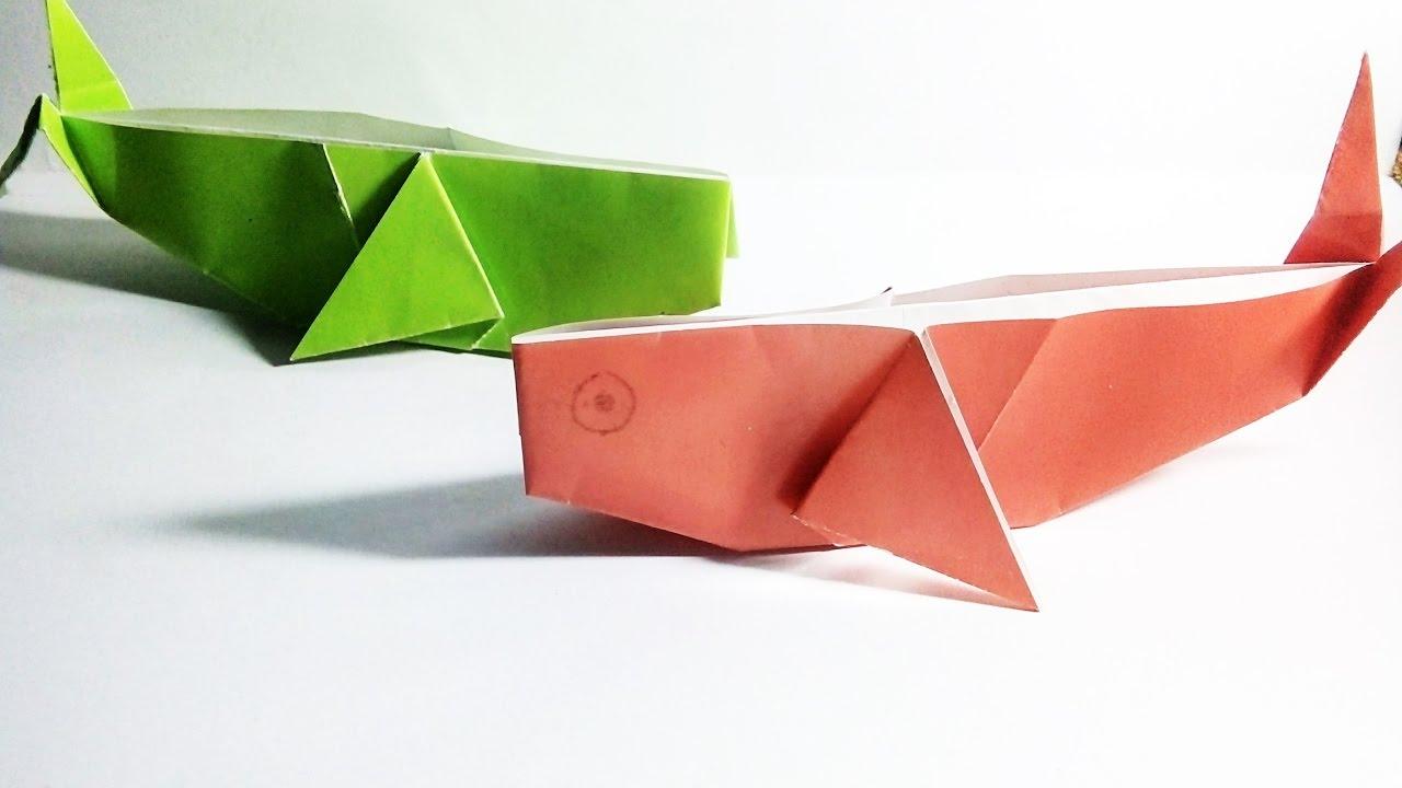 Easy Origami Turtle ✿Paper Craft Tutorial ✿ - SunderOrigami ... | 720x1280
