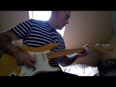 Stratocaster CIMAR MIJ seventies  Seymour Duncan little 59 jump blues