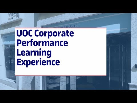 UOC Corporate Performance Learning Experience
