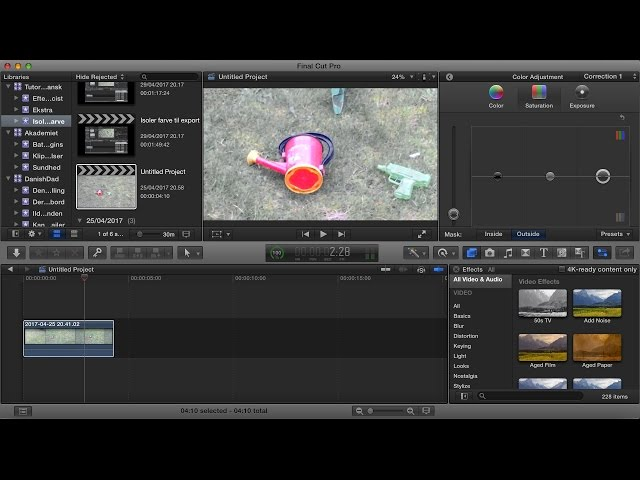 How to use Final Cut Pro X