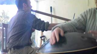 Hang and Bow Harp