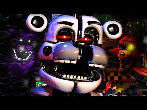 KEEP YOUR EYES ON FUNTIME FREDDY AT ALL TIMES... || FNAF Ultimate Custom Night Rejected