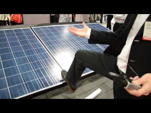 Spice Solar - Solar Built-In Racking™ @ Solar Power International conference 2014