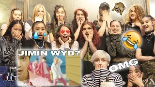 Download [DANCERS REACT TO] BTS (방탄소년단) - BOY WITH LUV 작은 것들을 위한 시 ft. HALSEY MUSIC VIDEO *crazy & emotional* Mp3 and Videos