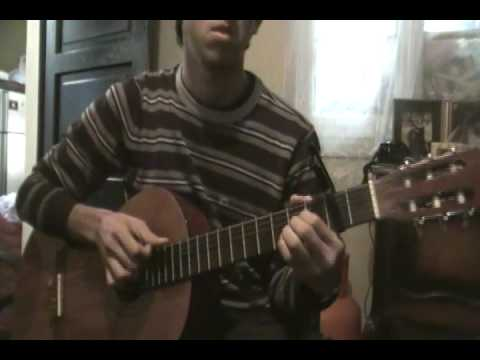 Brandon Flowers Crossfire , Acoustic Guitar ( Tutorial Cover ) - YouTube