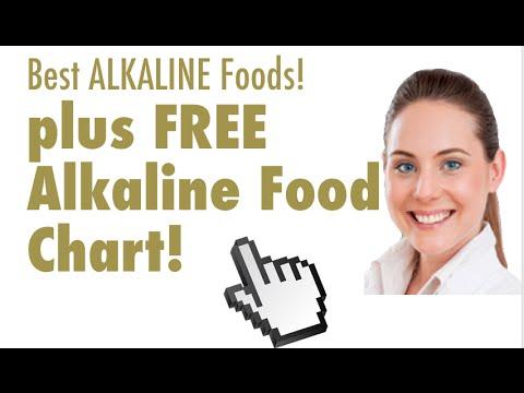 Best Alkaline Foods List! (Includes Alkaline food chart!)
