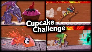 [SSBU] Who can reach Ridley's cupcake?!