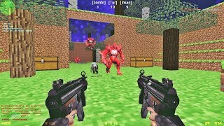 Counter-Strike: Zombie Escape Mod - ze_Minecraftworld_v2_dg
