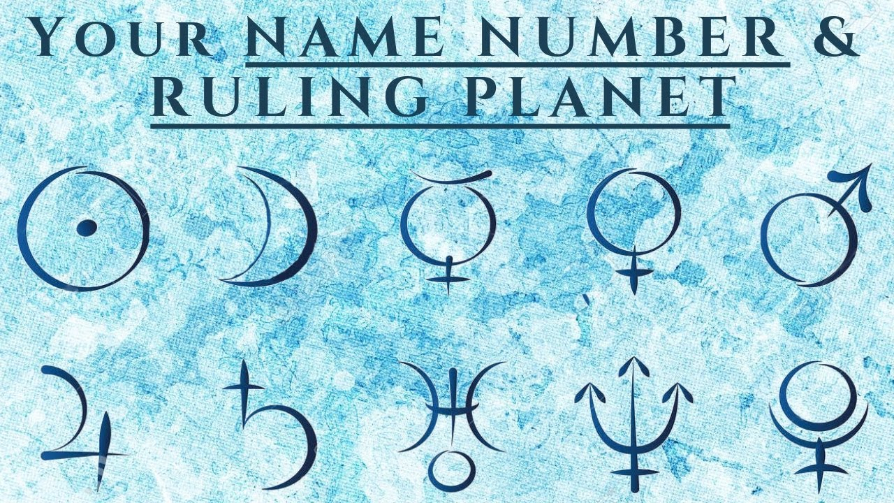 Your Name Number and Its Ruling Planet - Simona Rich