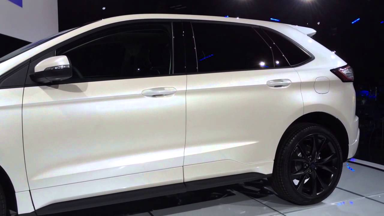 Ford Edge Sport 2015 Crossover Vehicle Unveiling At Ford HQ 624