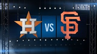 8/12/15: Astros launch two solo homers for 2-0 win