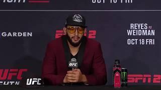 UFC Бостон: Главные моменты пресс-конференции