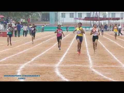 GIRL'S U17  400m  RUN FINAL. 60Th TAMIL NADU STATE REPUBLIC DAY SPORTS MEET  - 2017-18
