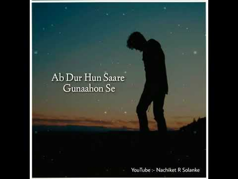 Aaj /Purani /Rahon /Se 😢Sad😢 /Status /By /4 /U..///