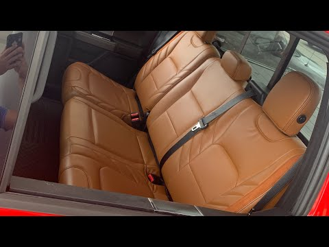 $500 Leather Truck Seats!