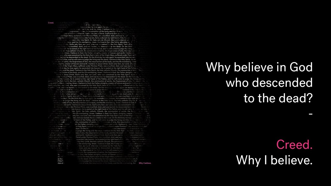 Creed: Why believe in God who descended to the dead? Cover Image