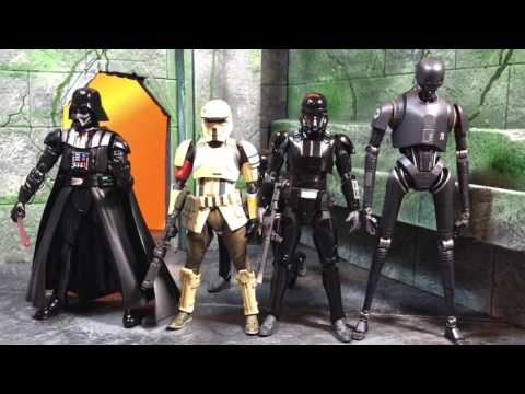 S.H. Figuarts Star Wars: Rogue One Death Trooper Review