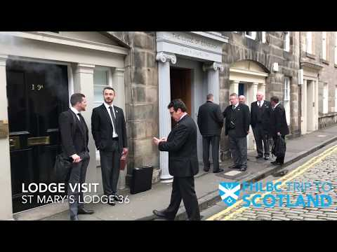 Freemasons In Scotland - FHLBC - (Rosslyn Chapel, Gilmerton Cove)