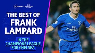 The best of Frank Lampard in the Champions League for Chelsea! 💙 Prolific goal-scoring midfielder!